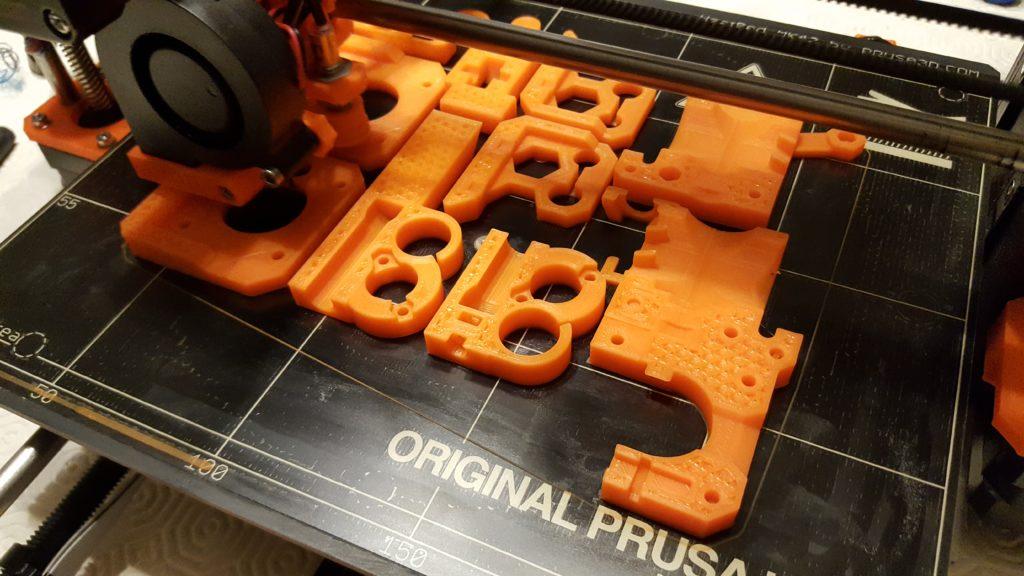 Prusa i3 mk2 printing parts