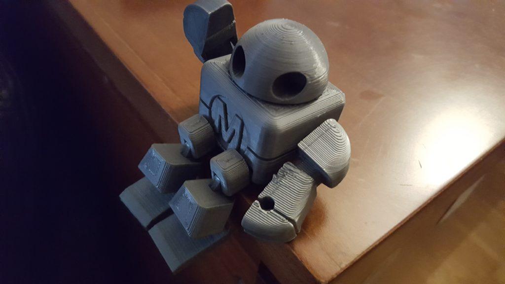 Robot imprimido em 3d
