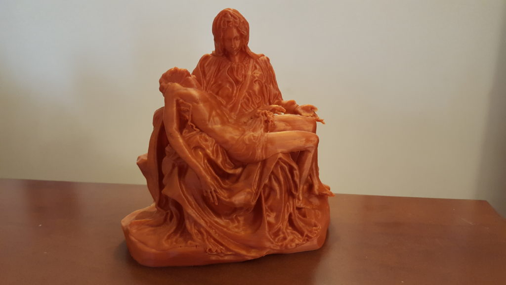 Pietà imprimida 3d