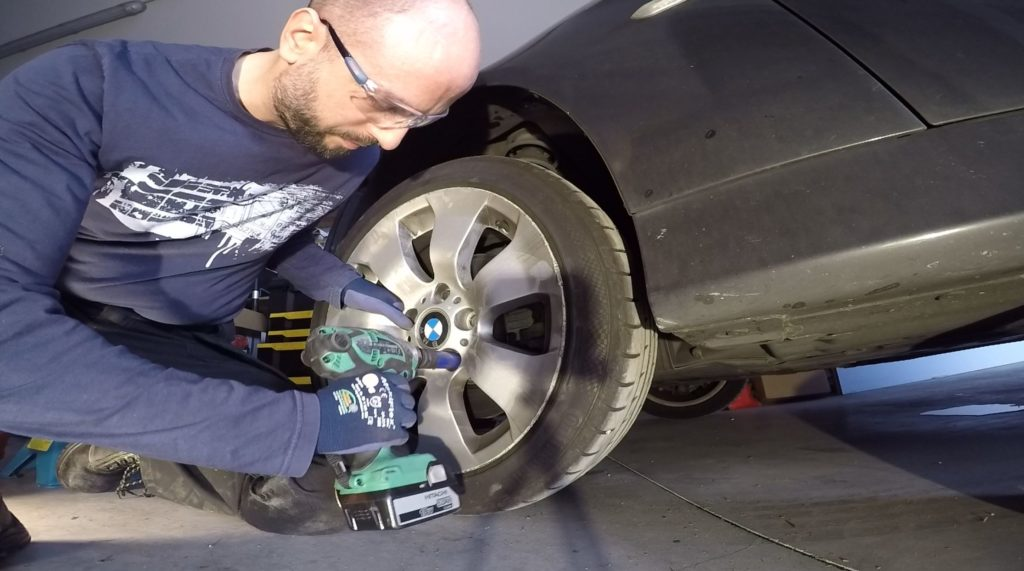 Chave de impacto roda